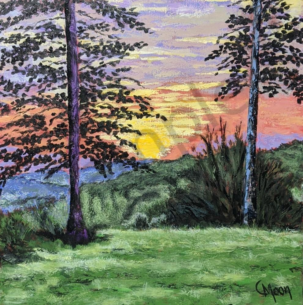 Purple Mountain's Majesty Art | Carol Moon Art