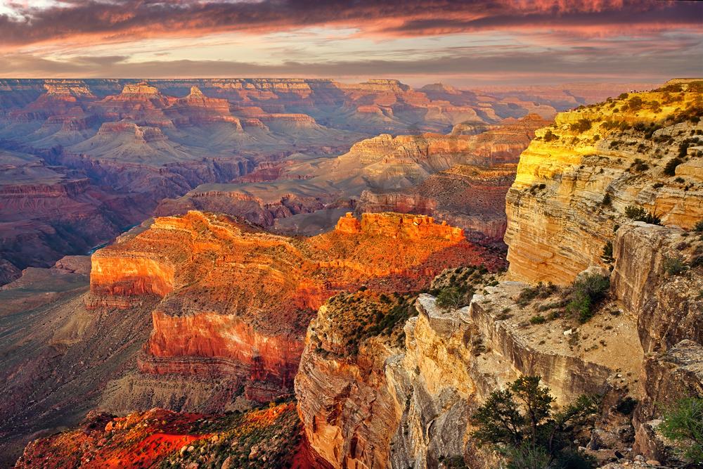 Print Art Grand Canyon Arizona Hopi Point