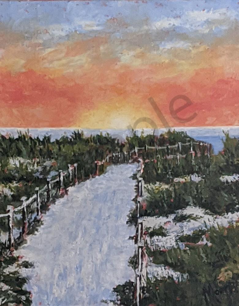 Pathway To Paradise Art | Carol Moon Art
