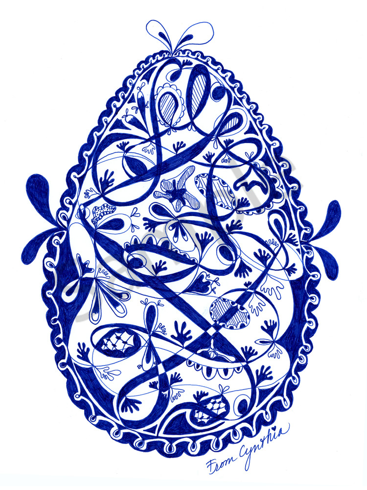 Egg 2 by Cynthia Mosser