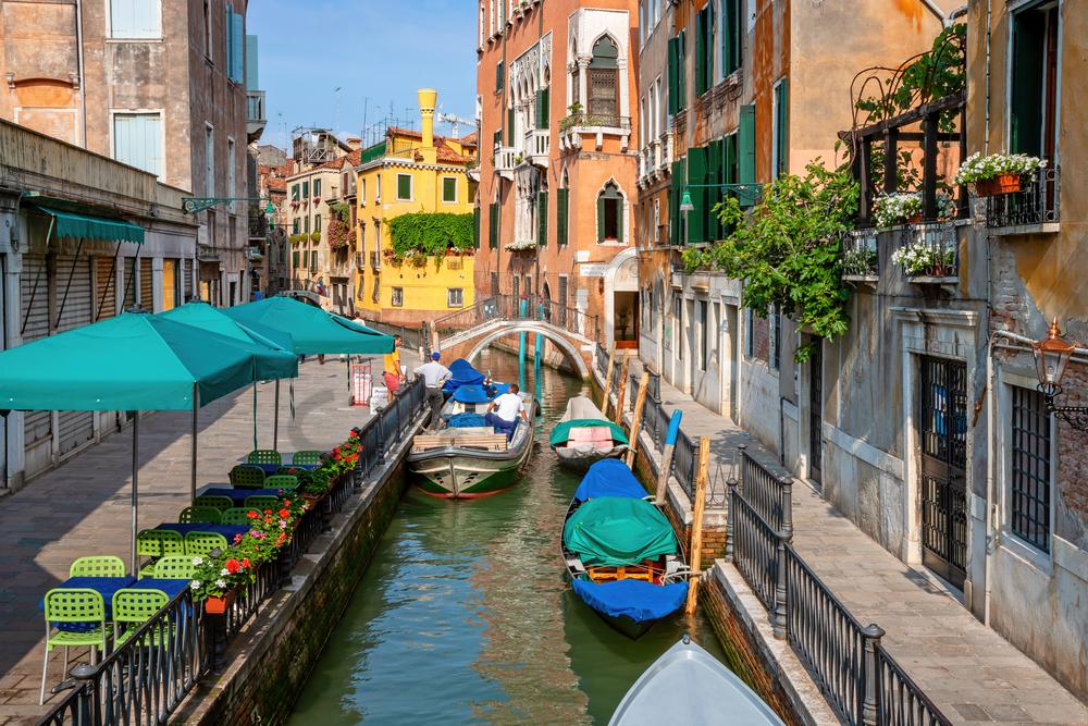 Art Print Venice Italy Venetian Waterways