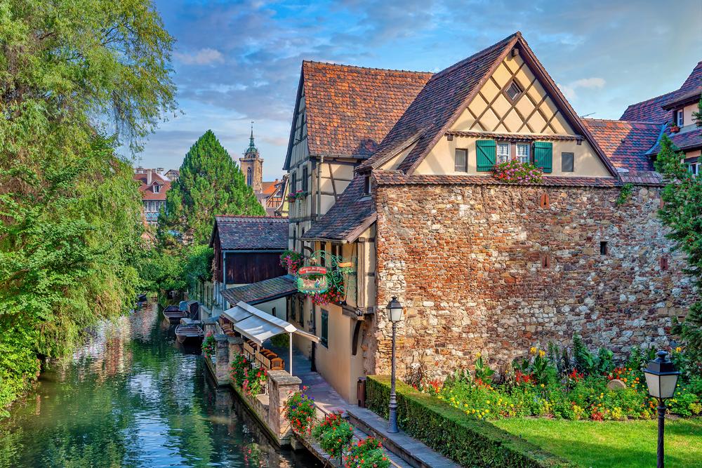 Print Art Colmar France Colmar's Canals