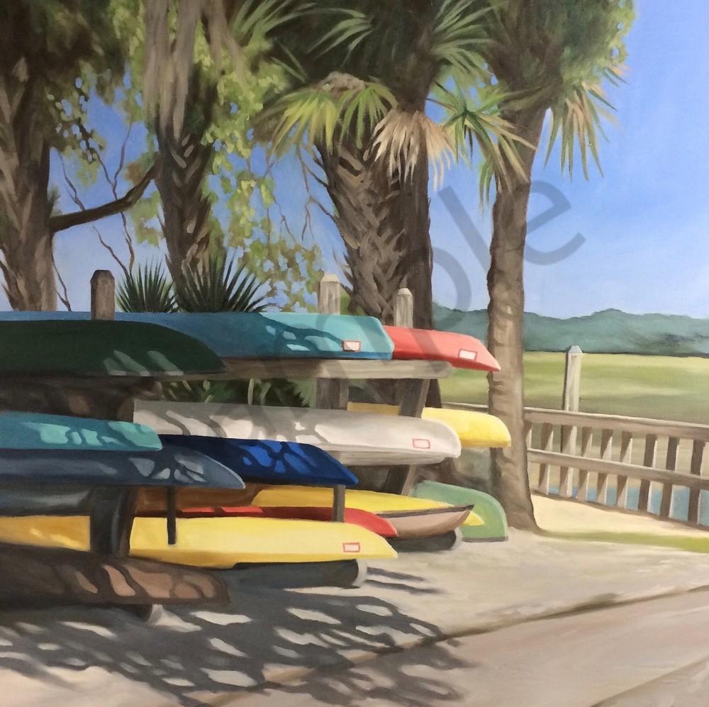 Carrie's Kayaks Art   Suzanne Aulds Studio