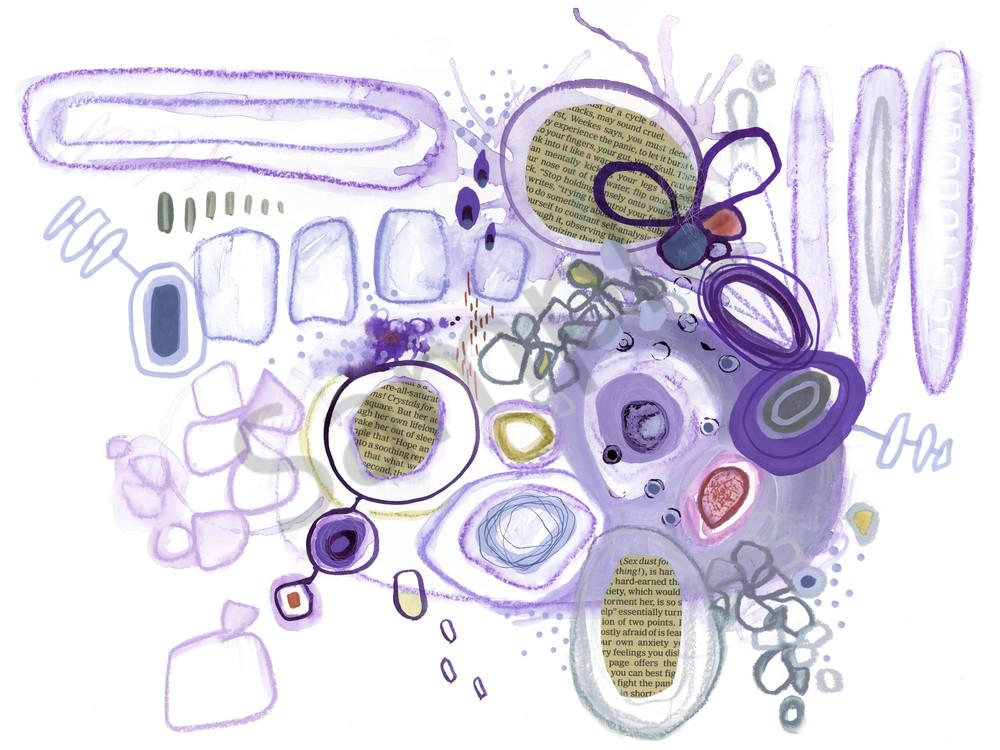 Purple Elevation Art | Kyle Creative
