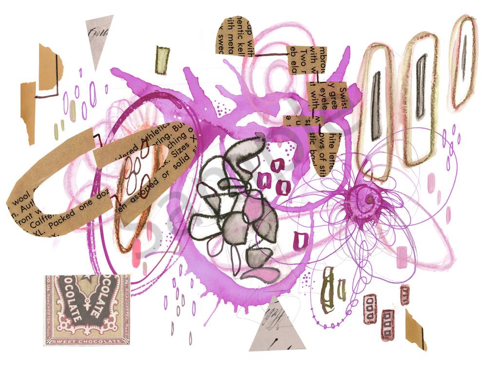 Purple Chocolate Art | Kyle Creative