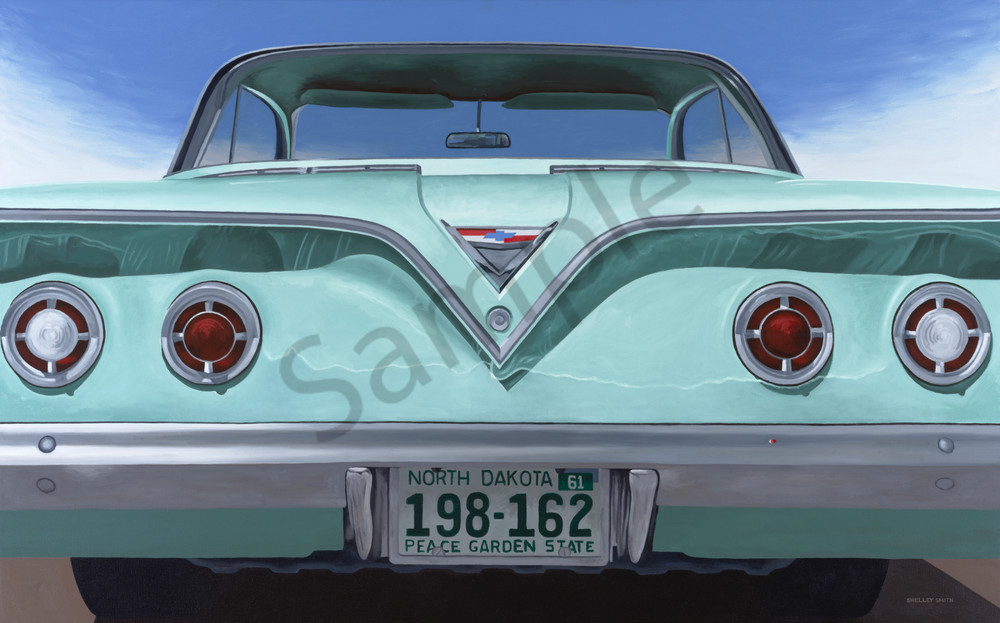 Wild 1961 Impala   Fine Art Print   Choose Your Media