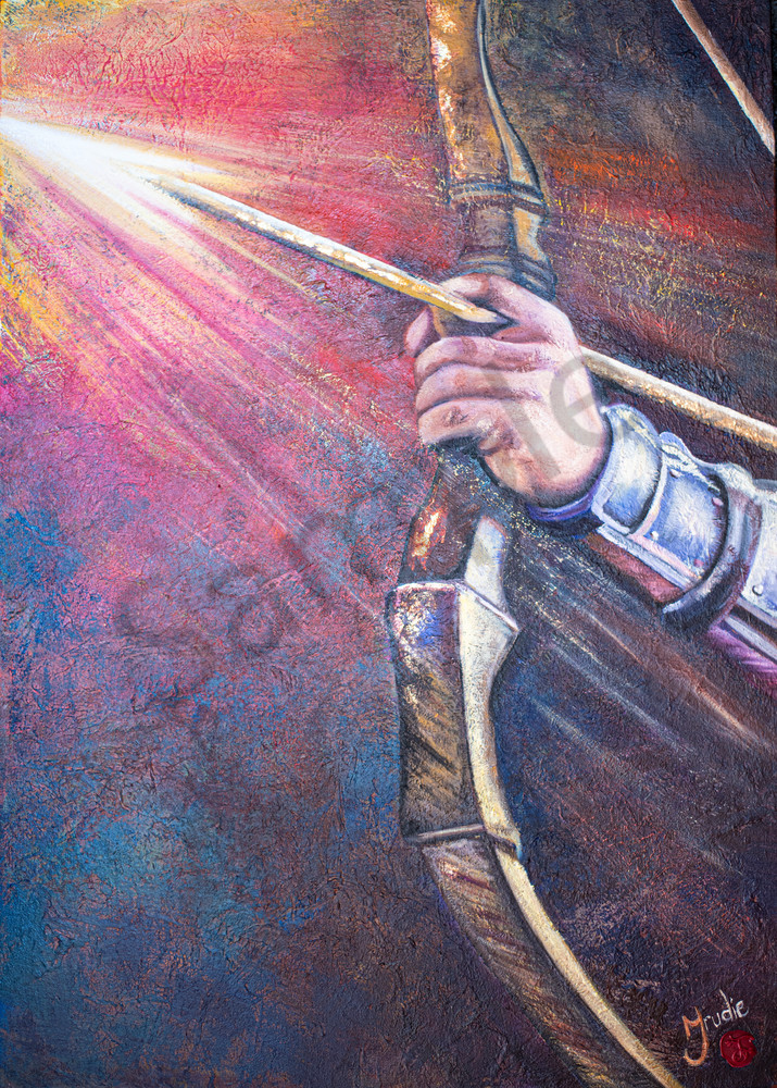 """""""Victory"""" by South African Artist Trudie Oosthuizen 