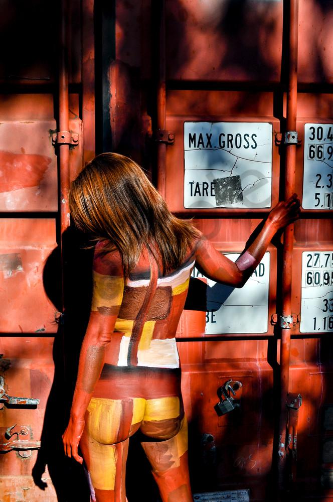 2009 Container Australia Art   BODYPAINTOGRAPHY