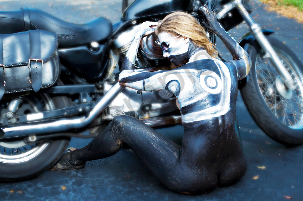 2010 Harley Davidson Florida Art | BODYPAINTOGRAPHY