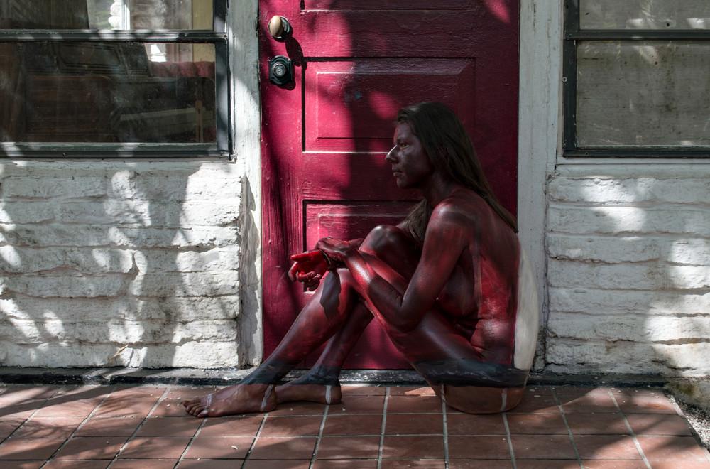 2017  Cottage Door  Florida Art | BODYPAINTOGRAPHY