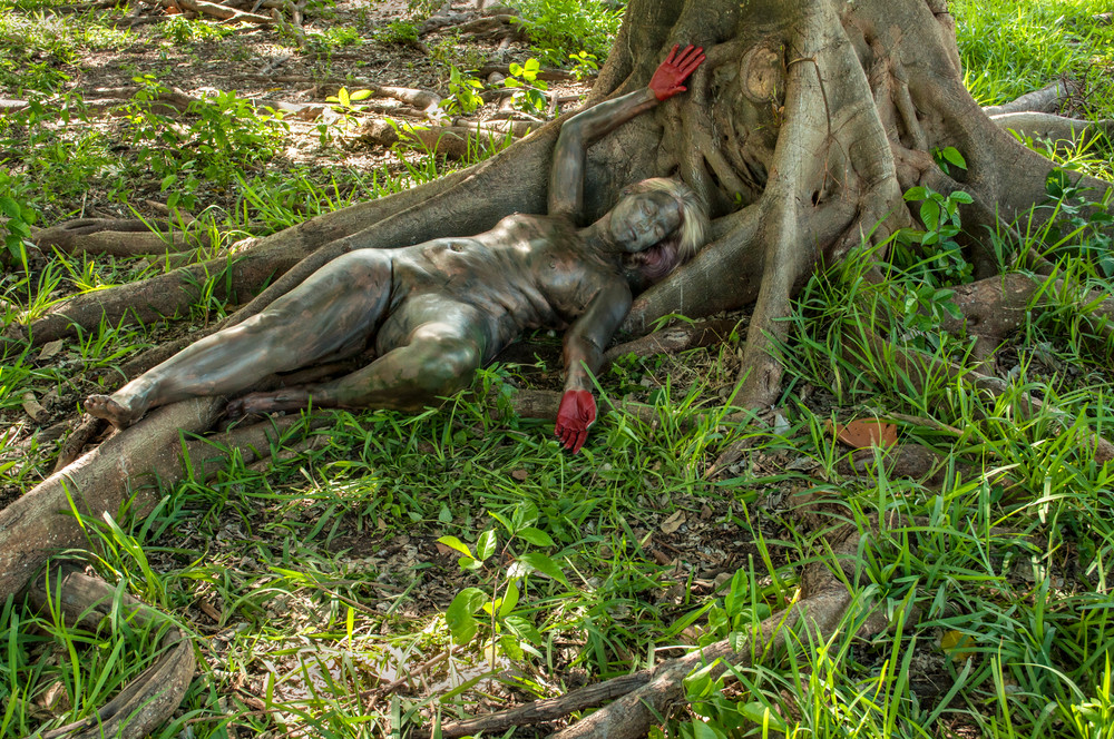2020 Tree Roots Florida Art | BODYPAINTOGRAPHY