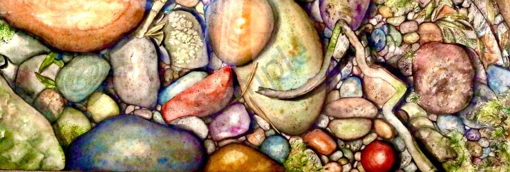 Stream of River Rocks