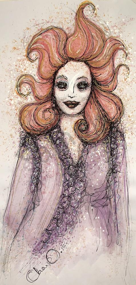 Old Lady Art | Atelje Rose