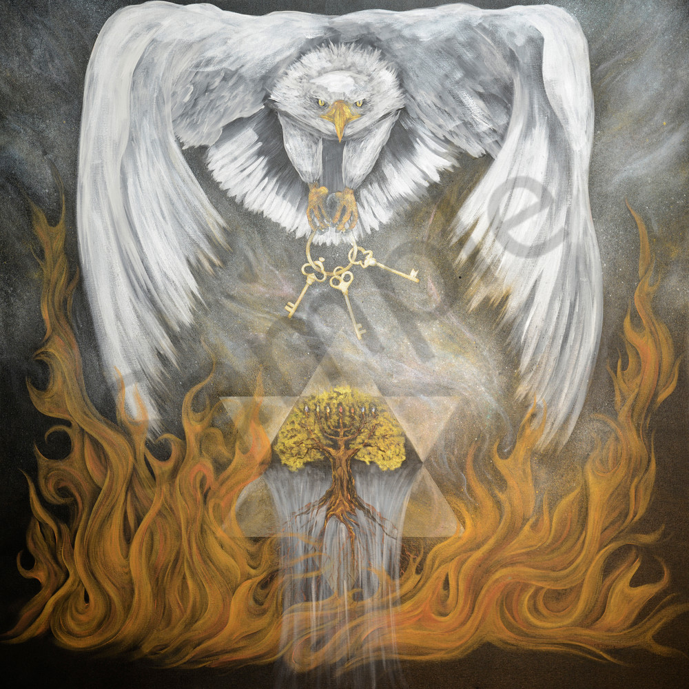 """Indwelling Presence"" by Colorado Artist Codye Reystead   Prophetics Gallery"
