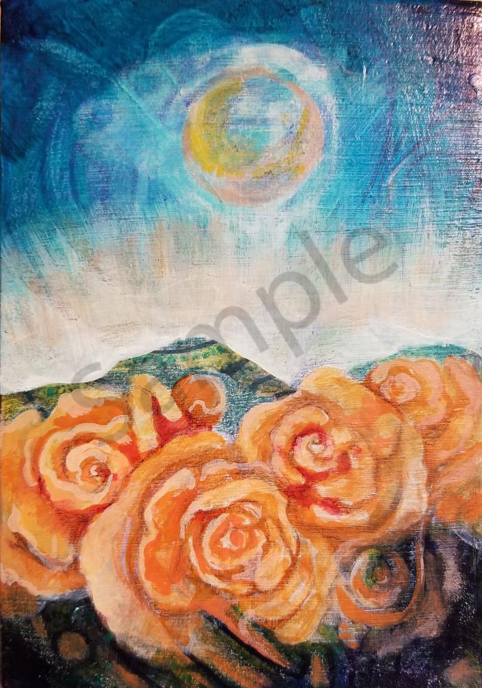 Roses Of Peace Art | Dena McKitrick