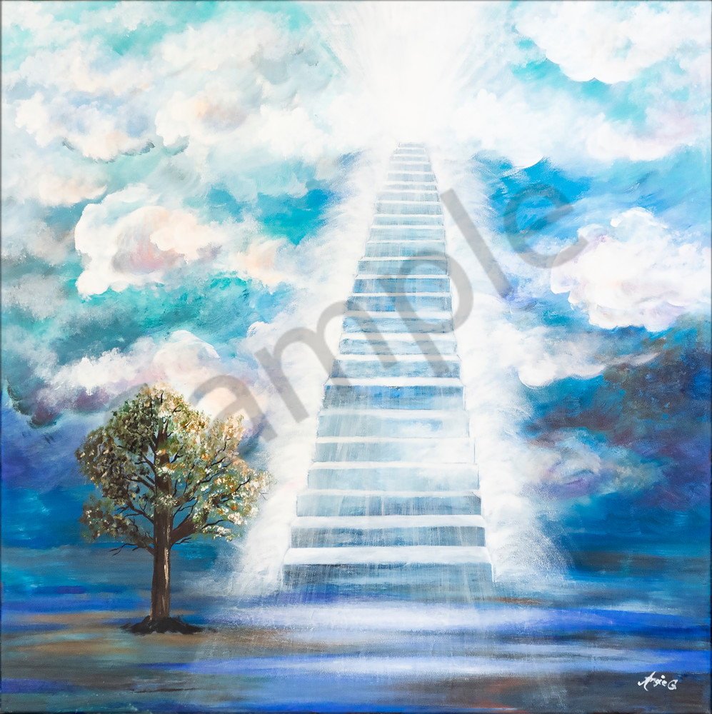 """Stairway To Heaven"" by German Artists Angela Günther | Prophetics Gallery"