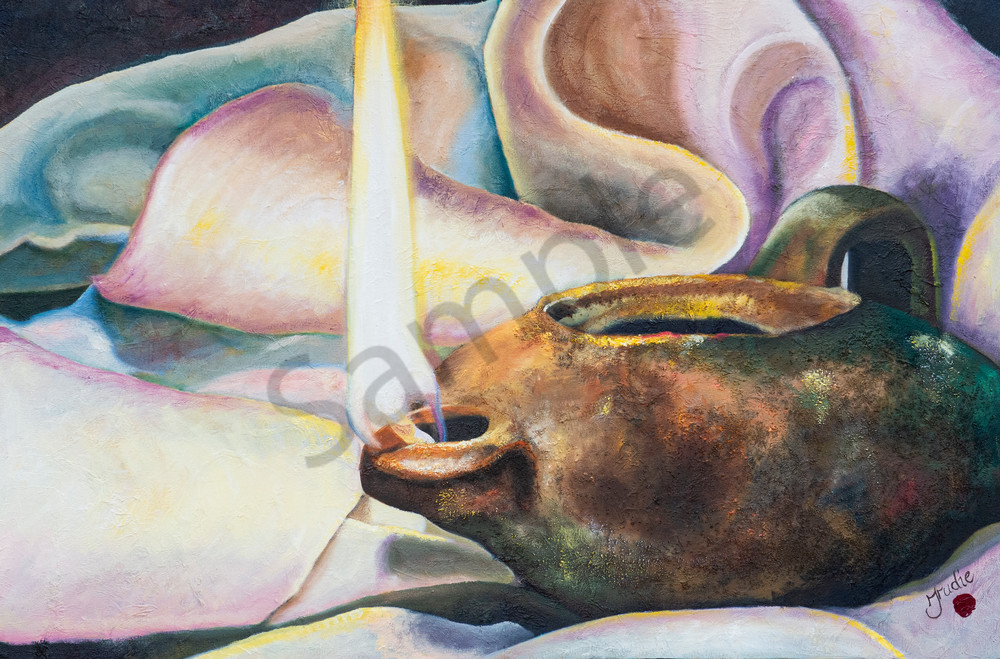 """""""Ready"""" by South African Artist Trudie Oosthuizen 