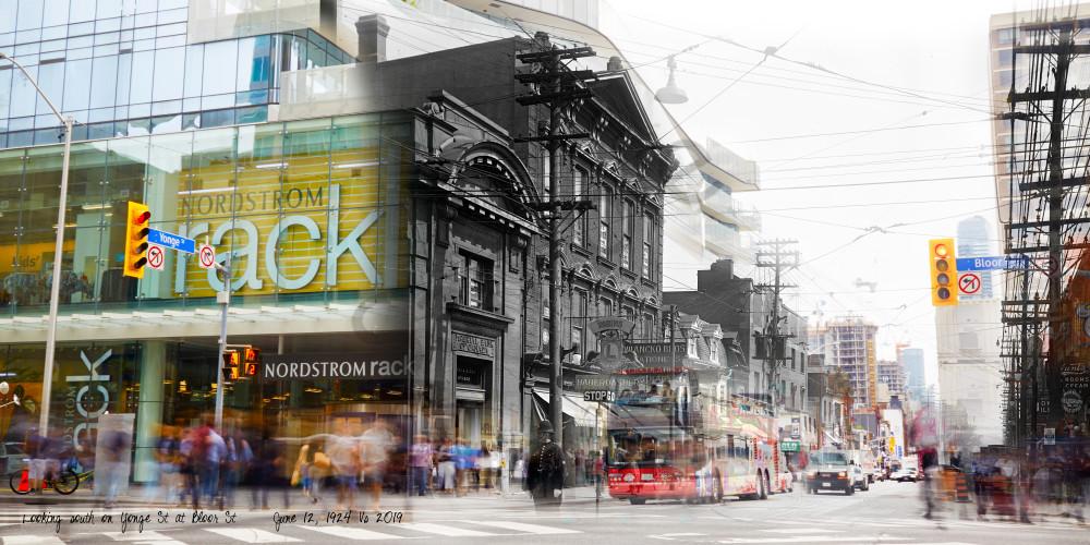 Past Present - Bloor & Yonge Intersection