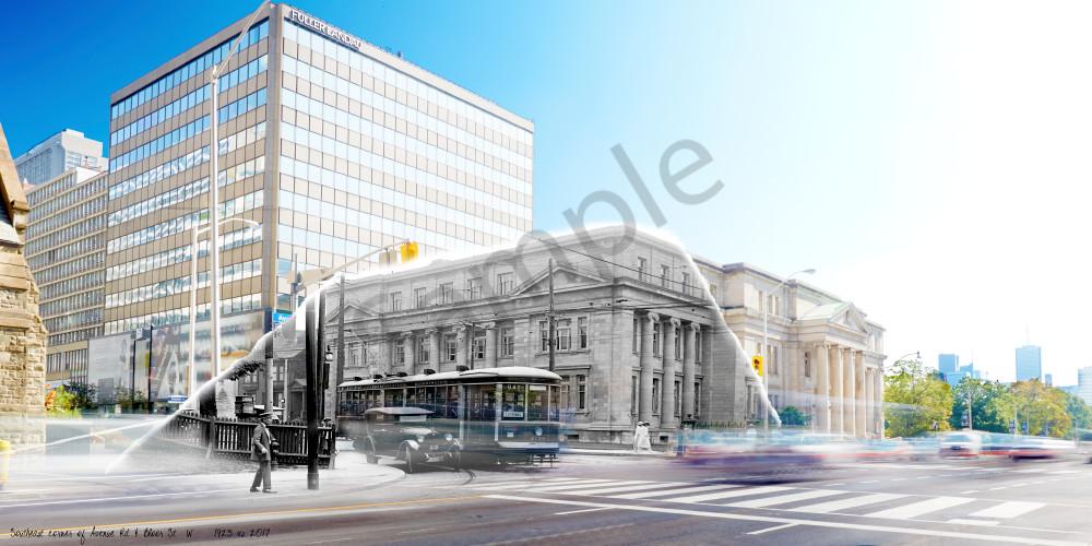 Past Present - Avenue Rd & Bloor St W