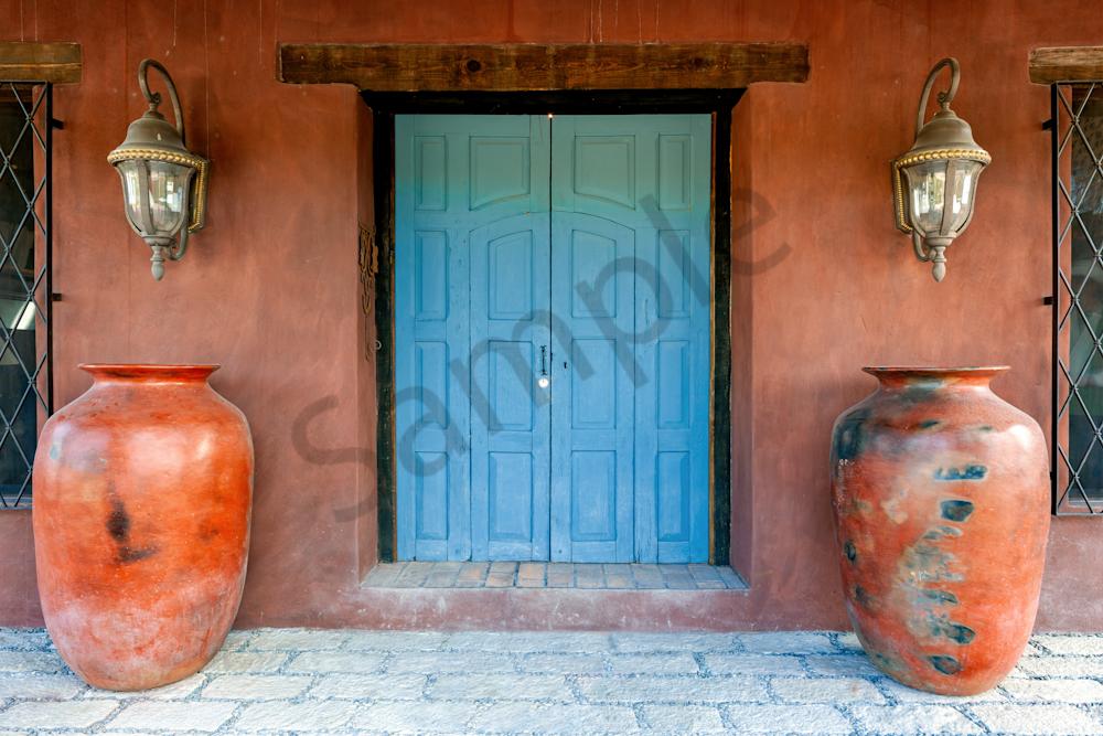 Print Art San Miguel de Allende Mexico Colonial Entrance