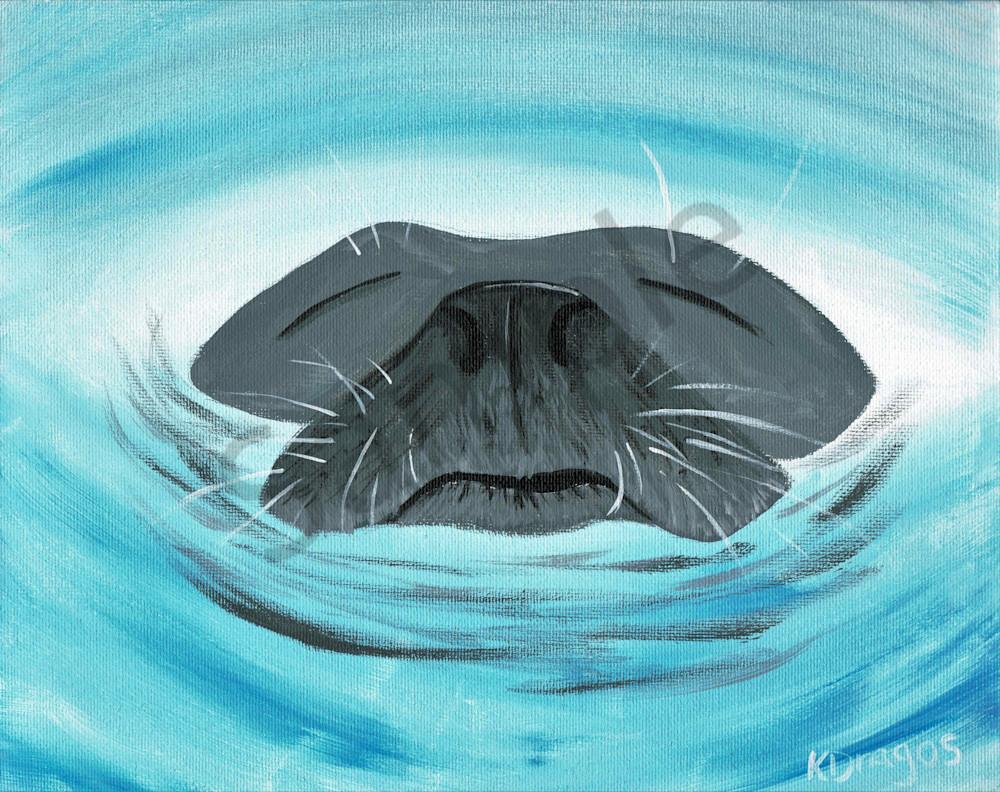Relaxing Swim Acrylic Artwork