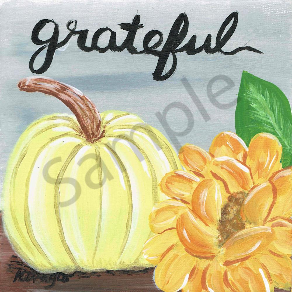 Grateful Pumpkin