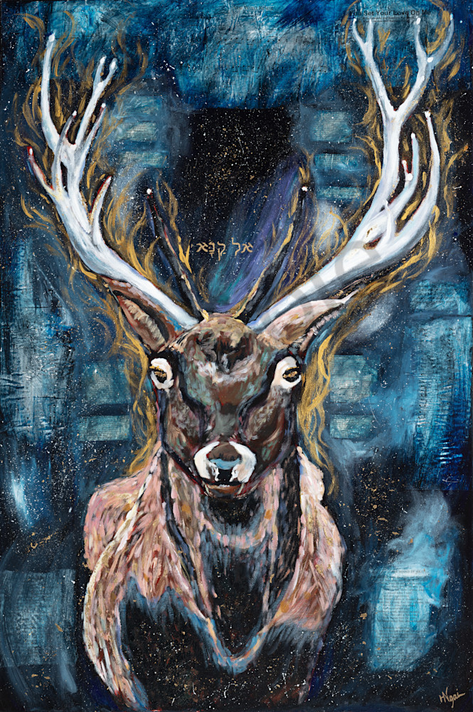 """El Kana"" by Arizona Artist Heidi Ngai | Prophetics Gallery"