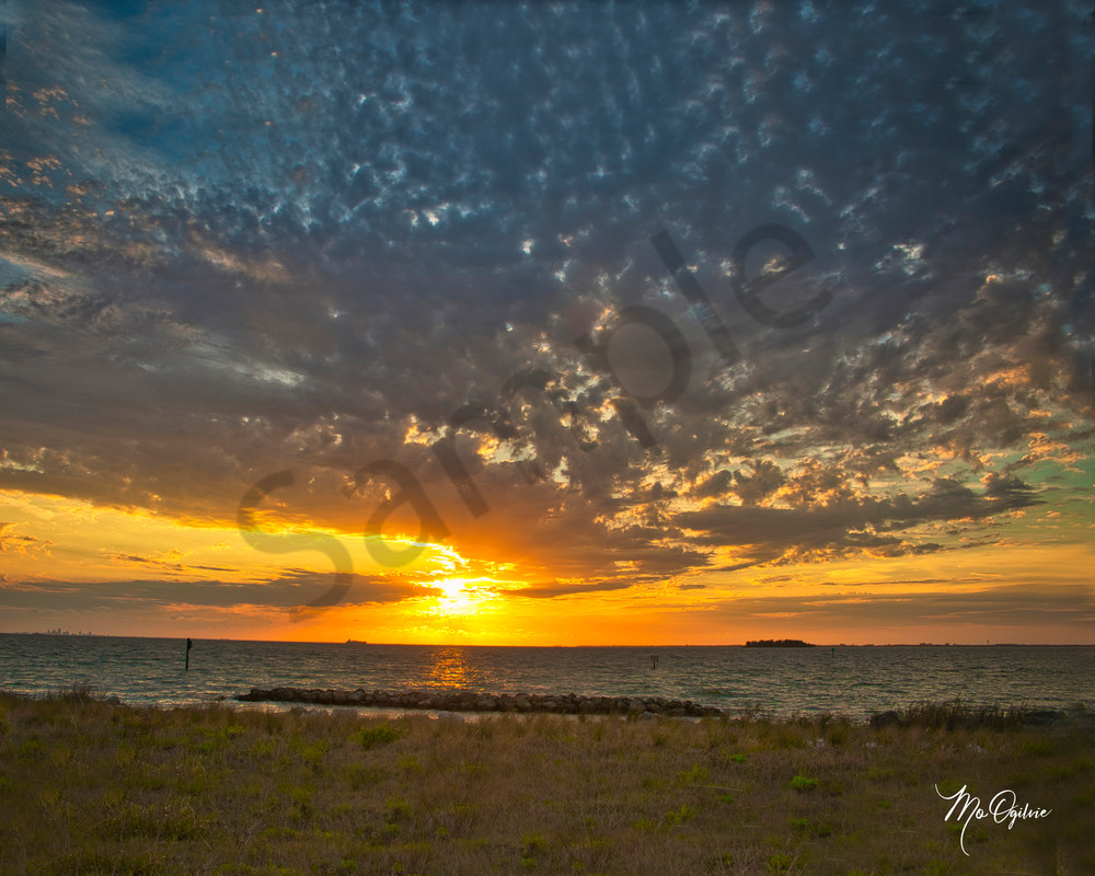 Sunset And Clouds Photography Art   It's Your World - Enjoy!