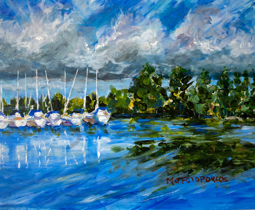 """""""Shifting Winds"""" by Canadian Artist Joan Fotopoulos 