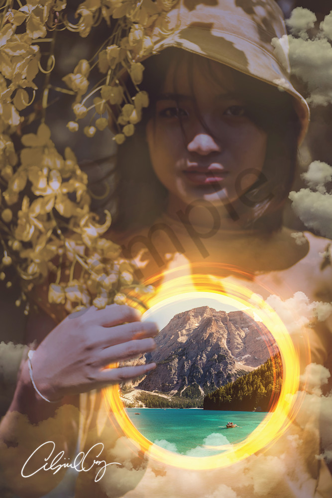 """Kingdom Within"" by Digital Prophetic Artist Abigail Cruz | Prophetics Gallery"