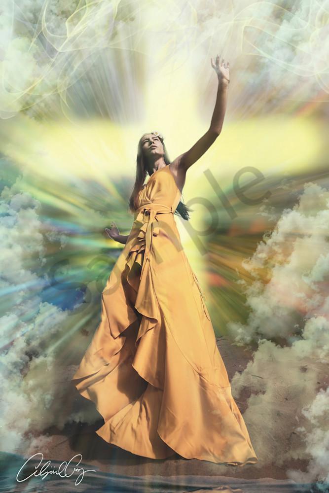"""As He Is So I Am"" by Digital Prophetic Artist Abigail Cruz | Prophetics Gallery"