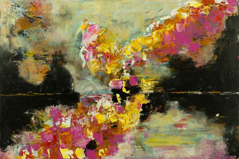 """Here Comes The Light"" by Massachusetts Prophetic Artist Hannah Hopkins | Prophetics Gallery"