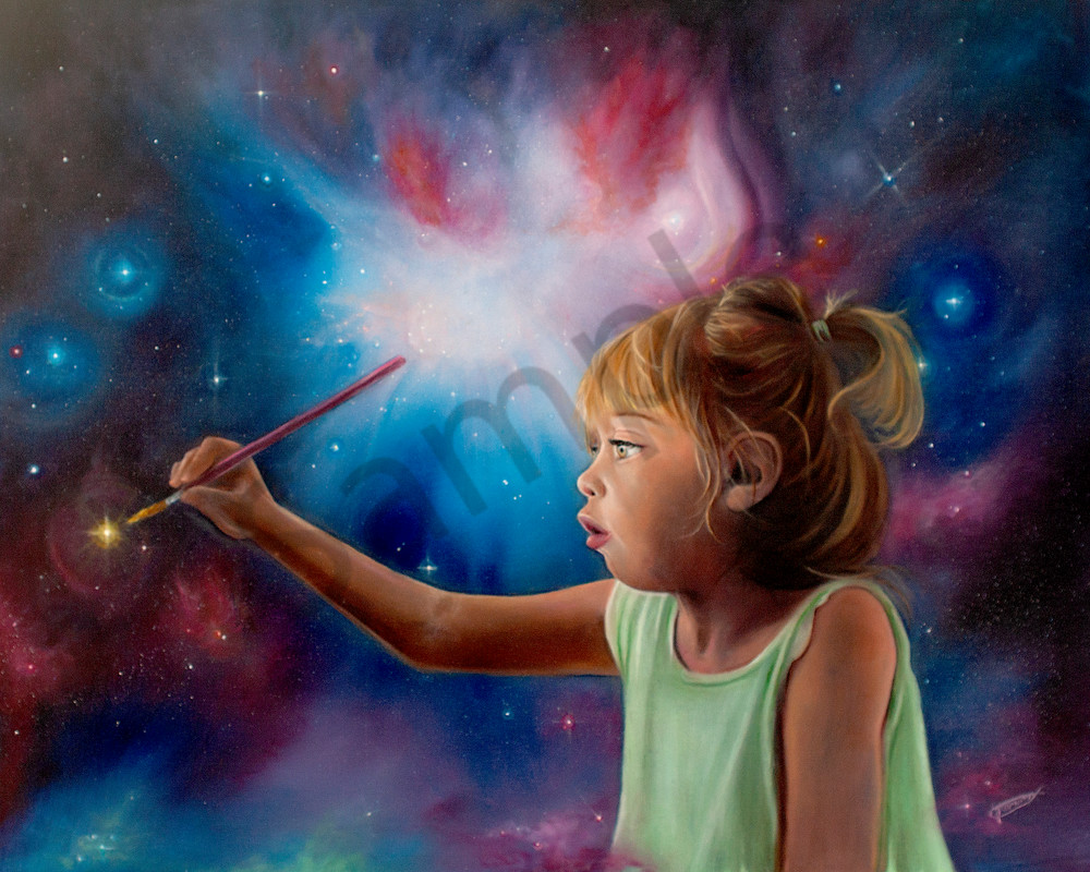 """""""Creating With My Abba"""" by Canadian Prophetic Artists Jeanette Sthamann 