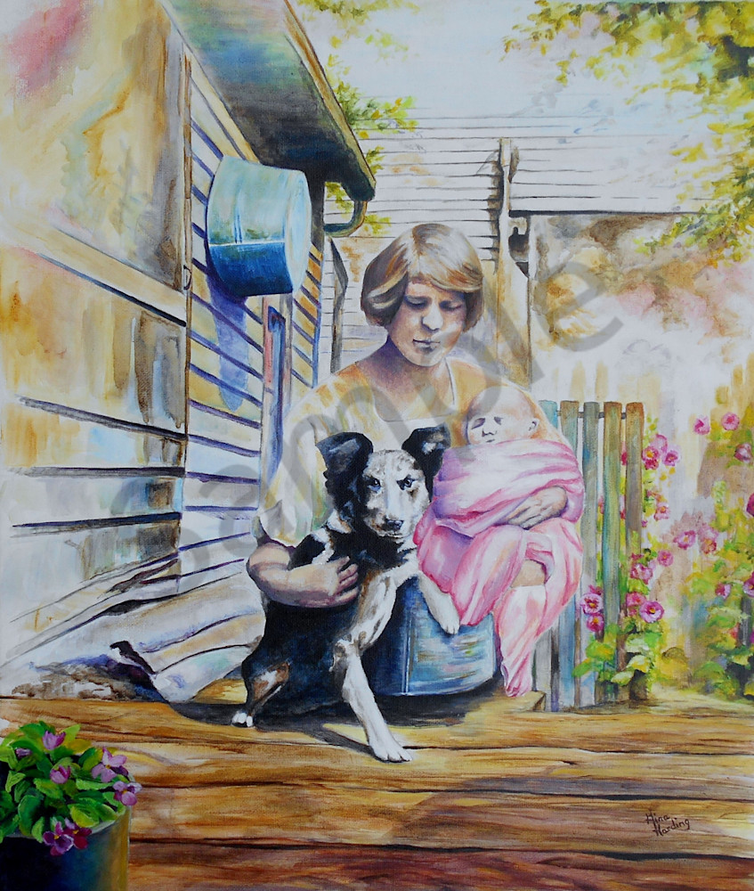 """Fierce Protector"" by Indiana Prophetic Artist Gina Harding   Prophetics Gallery"