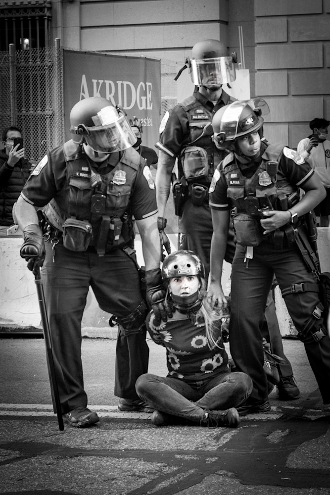 Arrested Girl Photography Art | Insomnigraphic