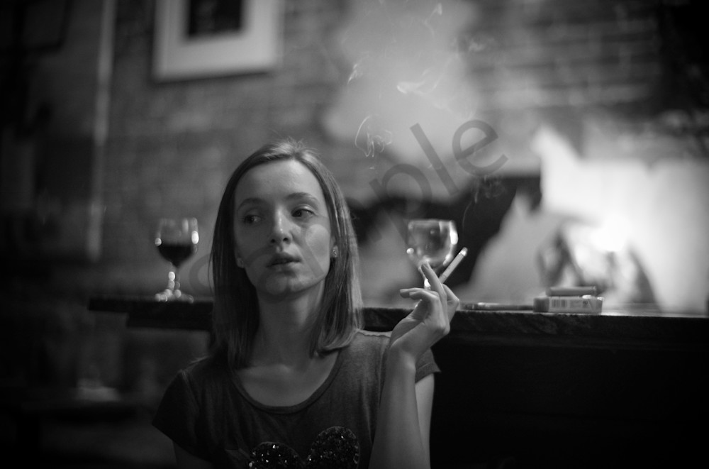 Girls In Bars Photography Art | Insomnigraphic