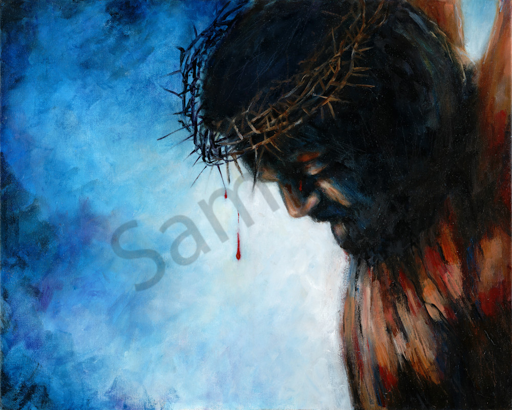 """""""The View From The Cross"""" by California Artist Susan Gelt-Garcia 