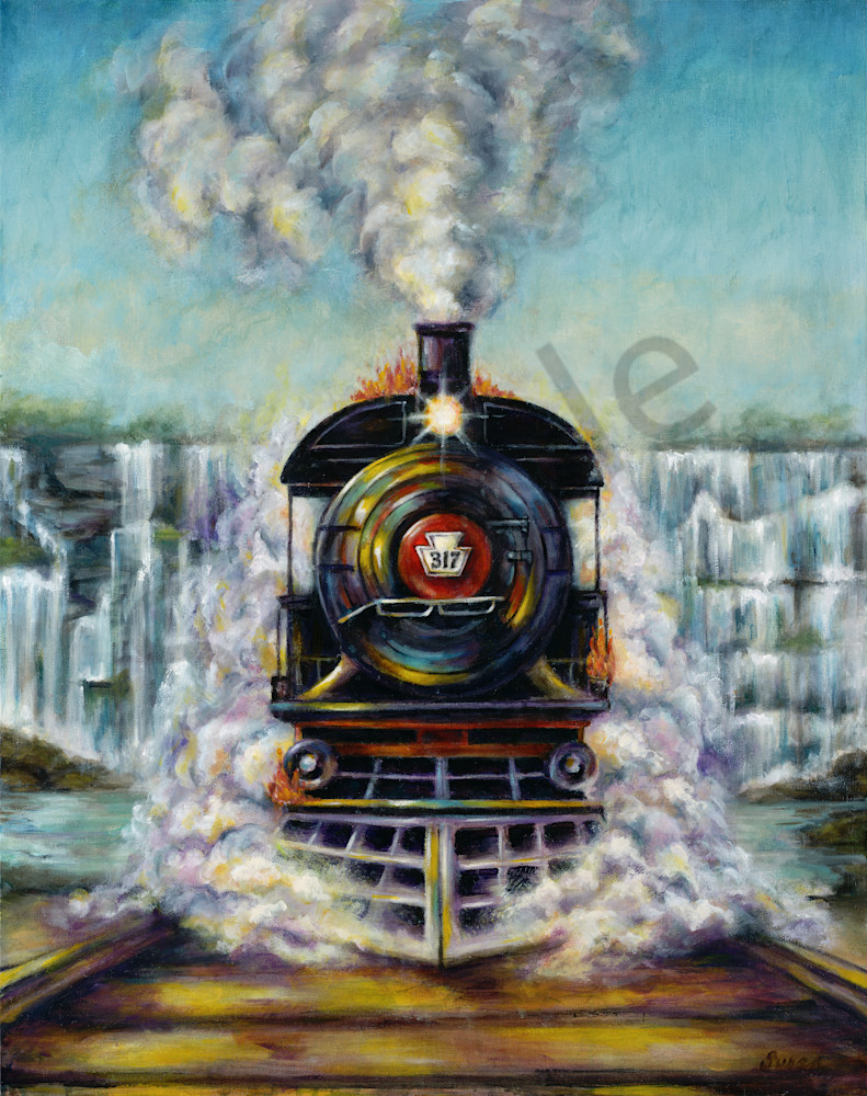 """Glory Train"" by California Susan Gelt-Garcia | Prophetics Gallery"