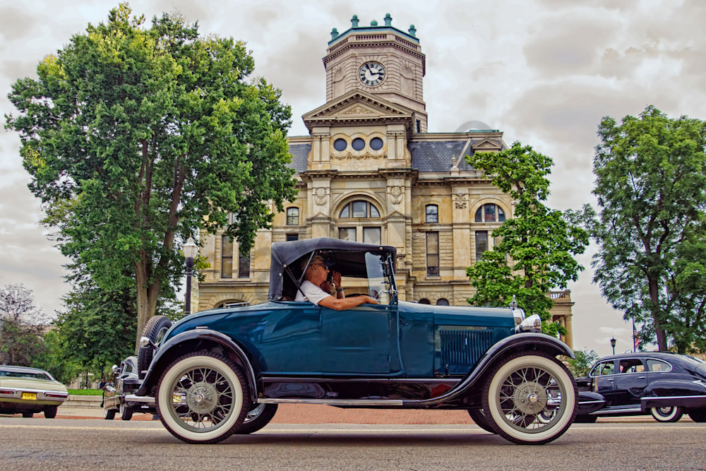 """1931 Ford Model """"A"""" Rumble Seat Coupe"""