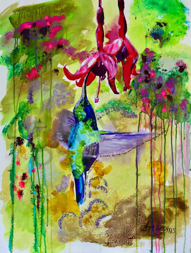"""Hummingbird"" by North Carolina Prophetic Artist Sharon Adams | Prophetics Gallery"