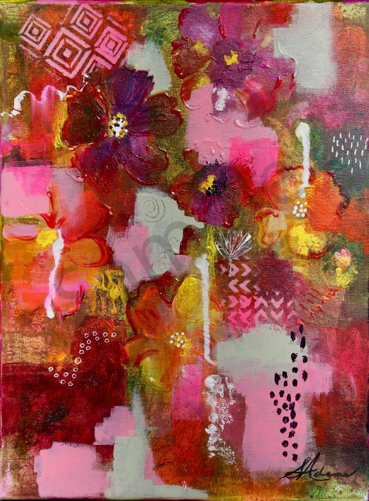 """Wild Flowers"" by North Carolina Prophetic Artists Sharon Adams   Prophetics Gallery"