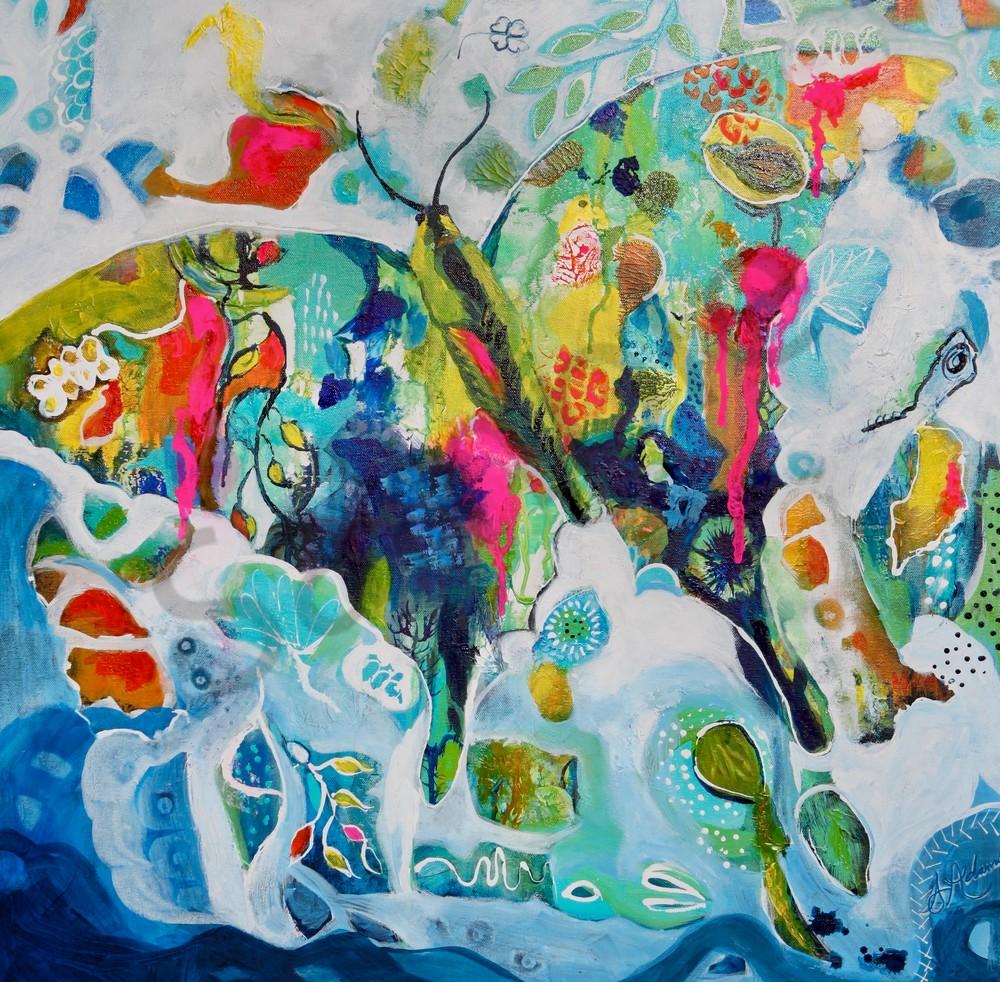 """Becoming You"" by North Carolina Prophetic Artist Sharon Adams | Prophetics Gallery"