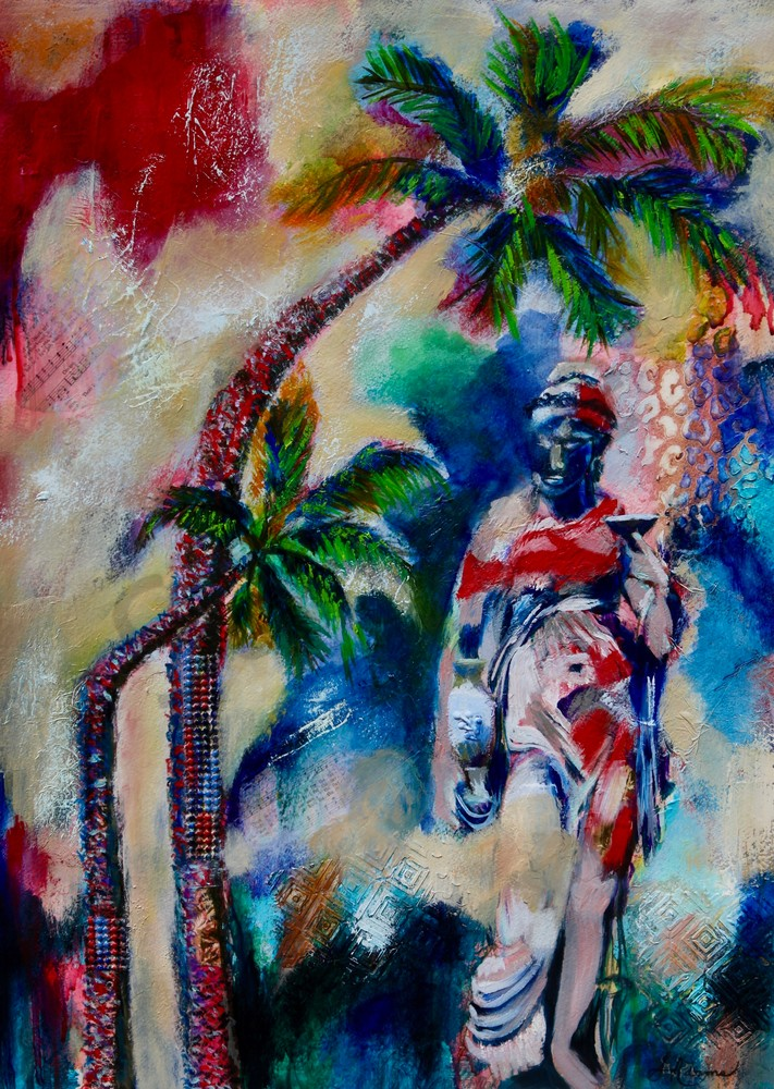 """Within The Shadow"" by North Carolina Artist Sharon Adams | Prophetics Gallery"