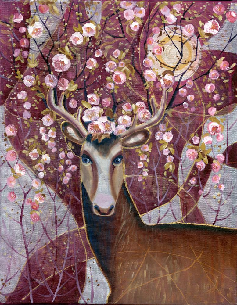 """""""David's Deer"""" by Russian Prophetic Artist Elena Shipunova   Prophetics Gallery"""