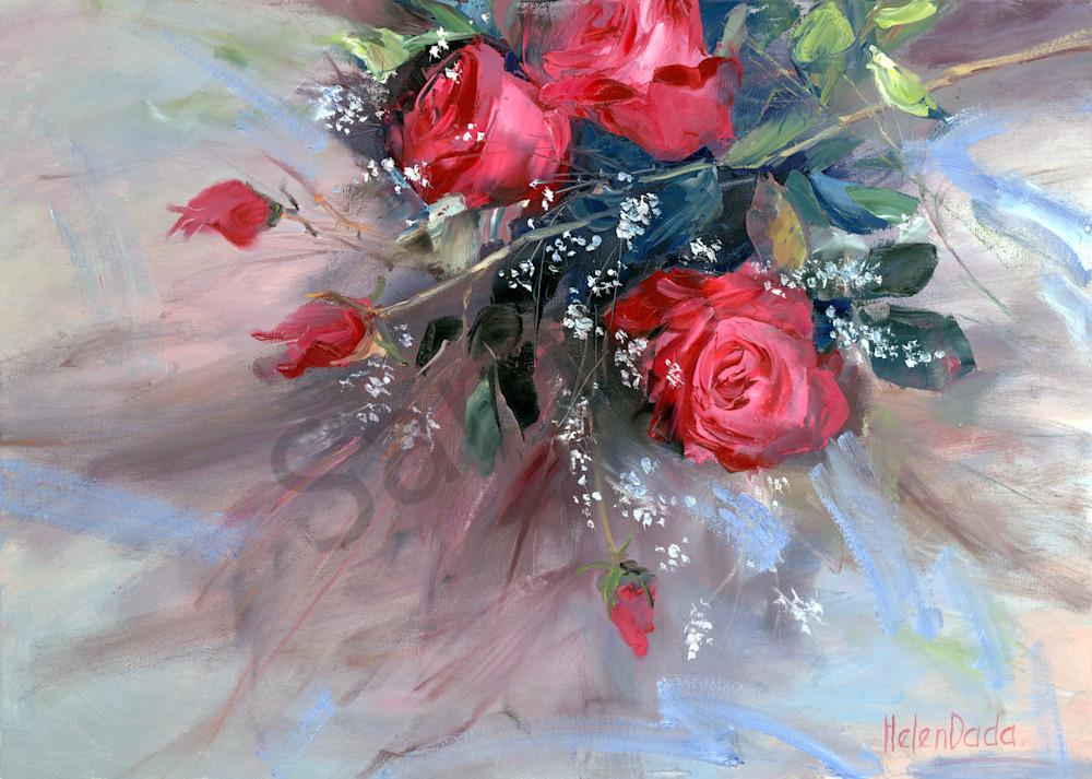 """Scarlet Roses"" by Russian Prophetic Artist Elena Shipunova | Prophetics Gallery"