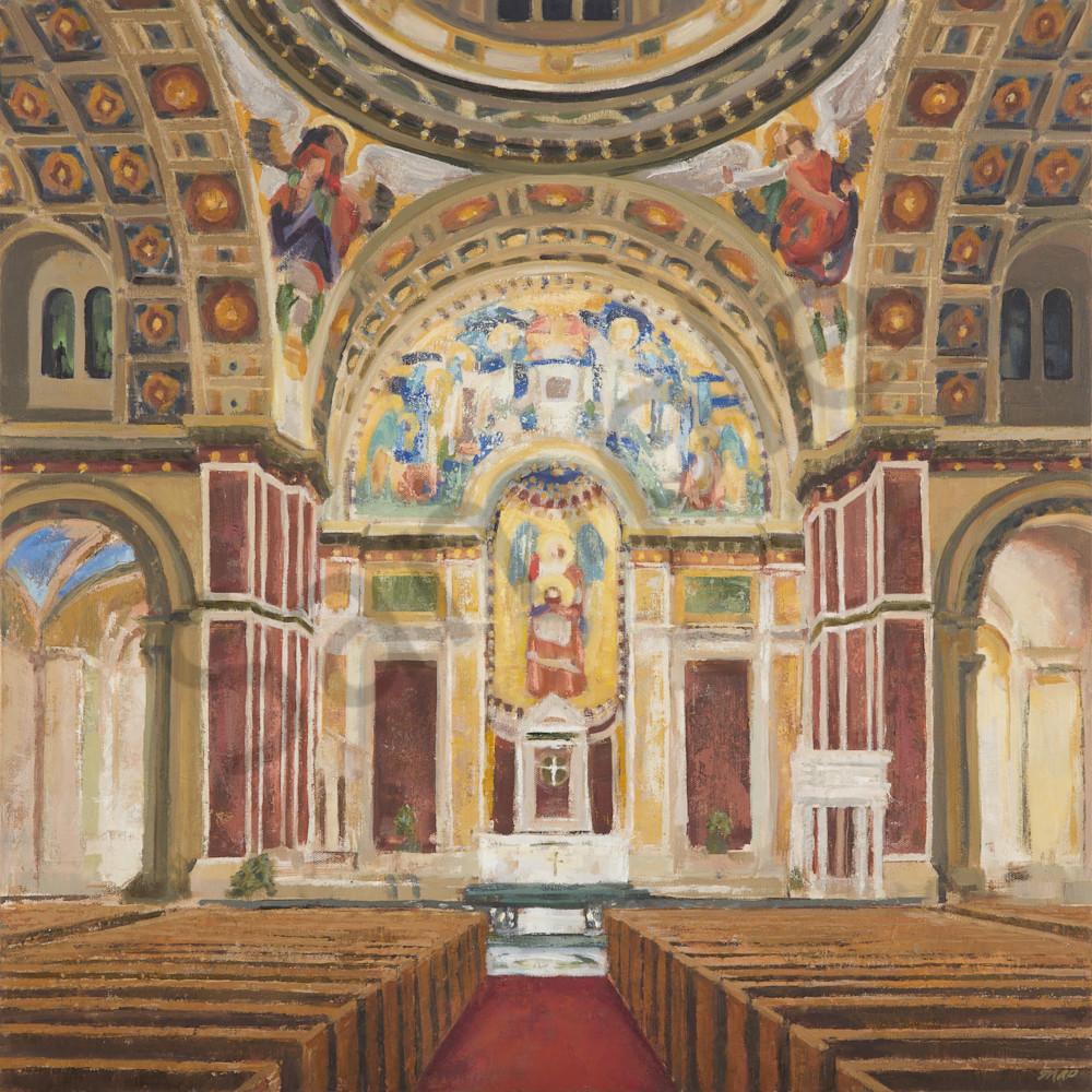 Saint Matthew's Cathedral Dc Interior  Art   Michelle Arnold Paine Fine Art