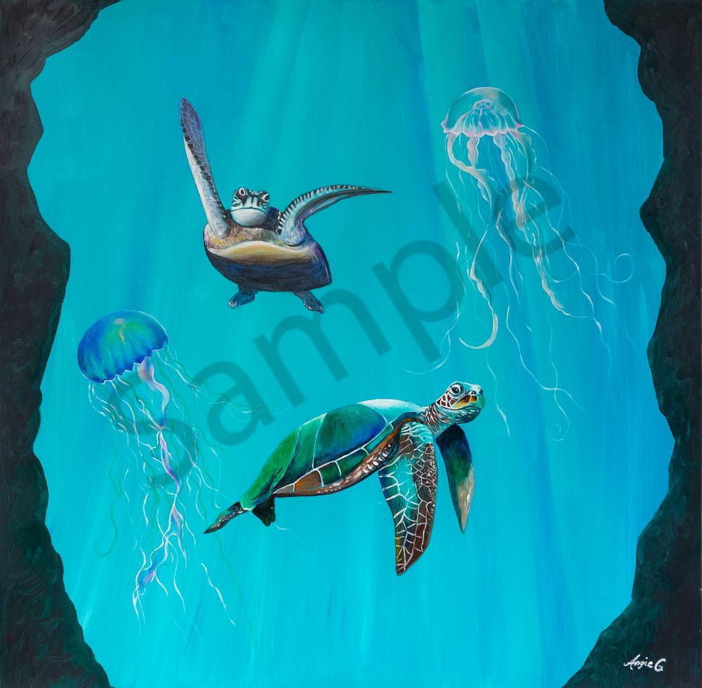 """In The Depth"" by German Prophetic Artist Angela Günther | Prophetics Gallery"