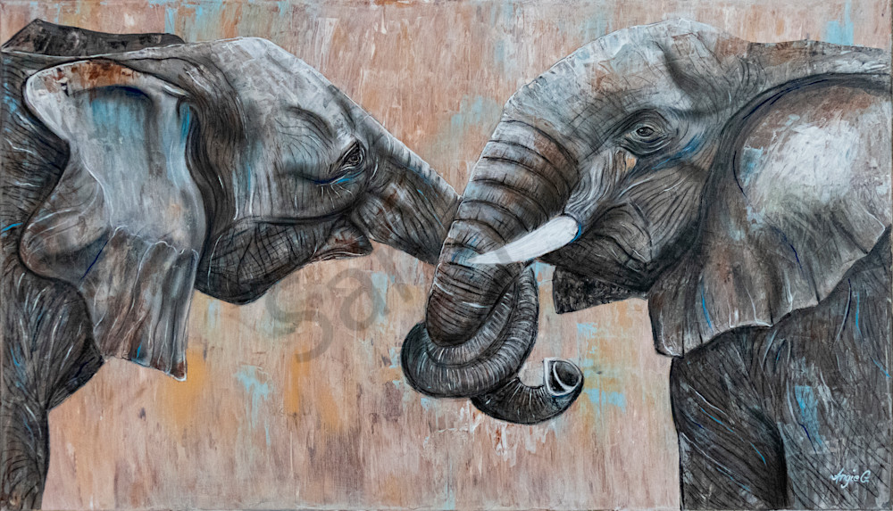 """""""I Will Never Leave You"""" by German Prophetic Artist Angela Günther 