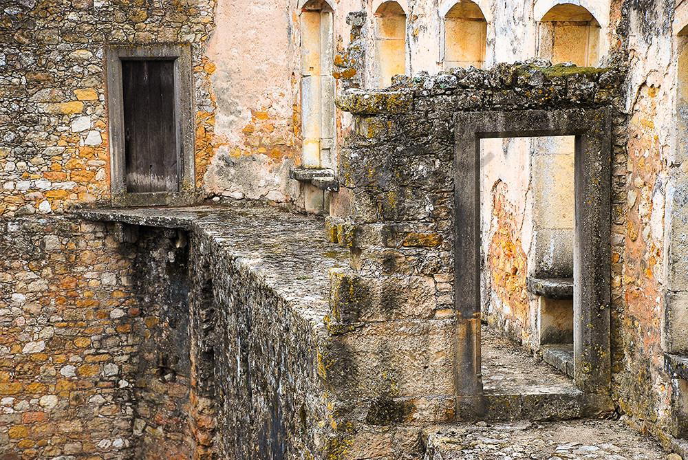 Ancient Doorway in Portugal