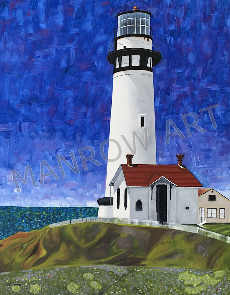 Pigeon Point Lighthouse - by Brandon Manrow